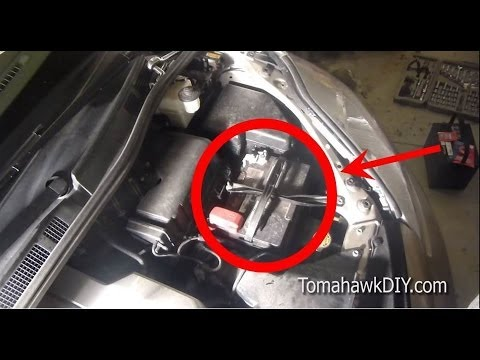 How to Replace a Car Battery (or Van / Truck)