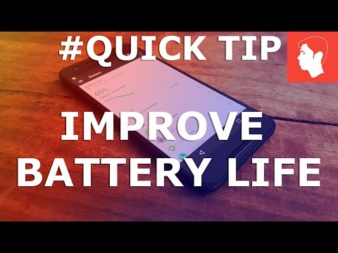 One Quick Tip to Improve Battery Life on Android Nougat 7.1/Almost any Android (Nexus 6P)