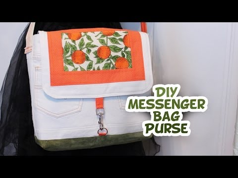 Messenger Style Purse | How to - Whitney Sews