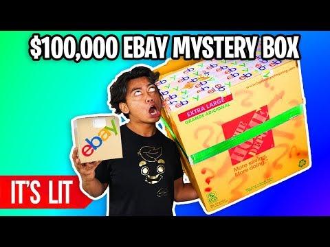 $25 VS $100,000 EBAY MYSTERY BOX! (Insane)