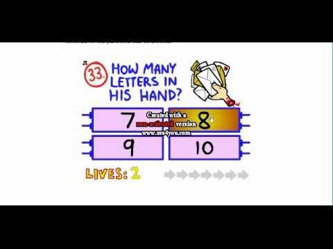 level 40!!!// on impossible quiz