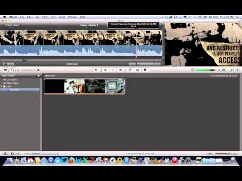 How to Mute Sections of Audio within Video Using iMovie