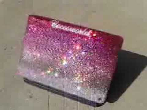 Bling-Bling! :) Seen on TV in ICE LOVES COCO, actual Crystal Laptop Case