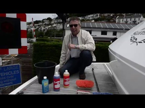 How to: Clean your teak deck