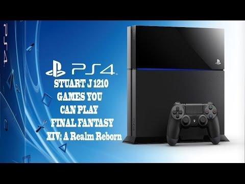 Final Fantasy XIV: A Realm Reborn PS4 beta