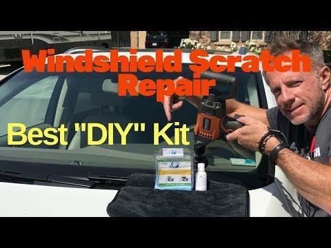 Windshield Scratch Repair: BEST DIY scratch repair kit