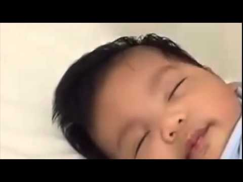 How to make a baby fall asleep in 40 seconds
