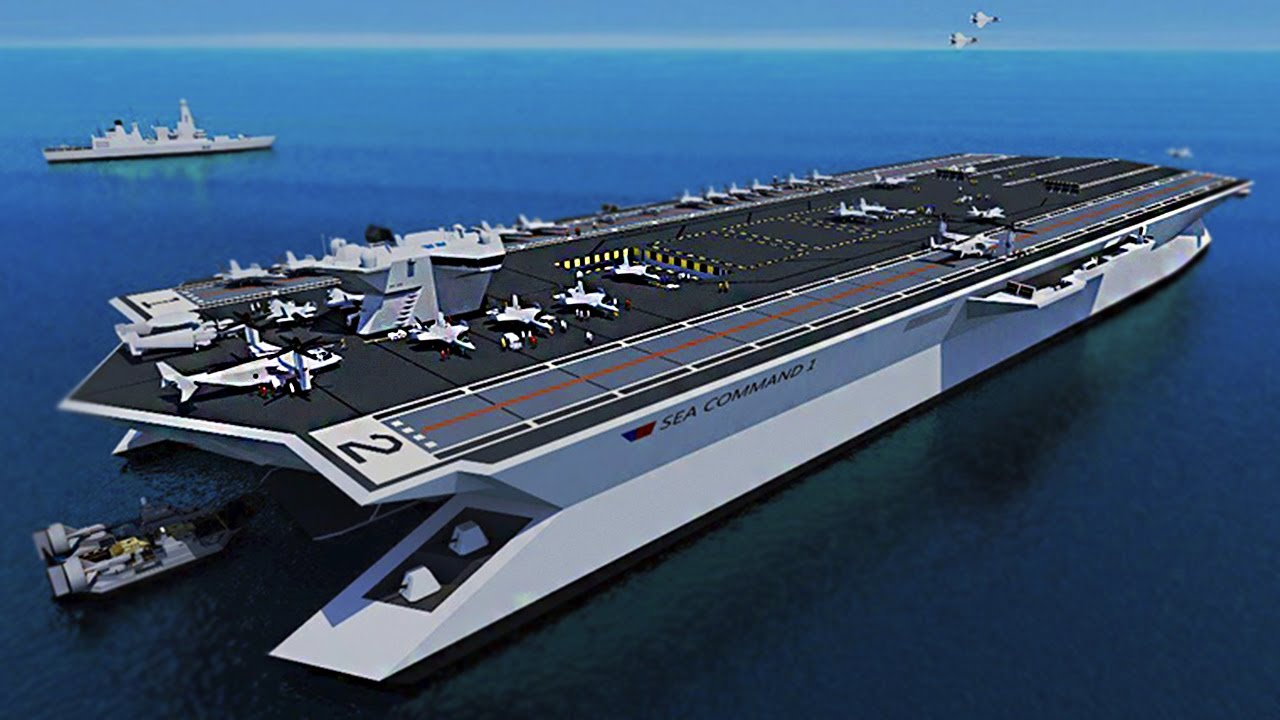 10 Largest And Most Powerful Aircraft Carriers In The World