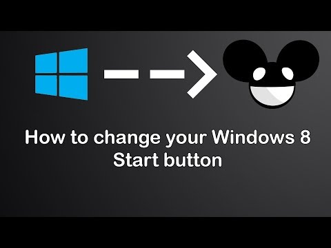 Windows 8 Mod - Change The Look Of Your Start Button
