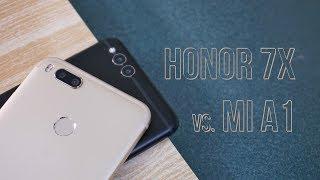 Honor 7x vs Mi A1 Comparison - Who