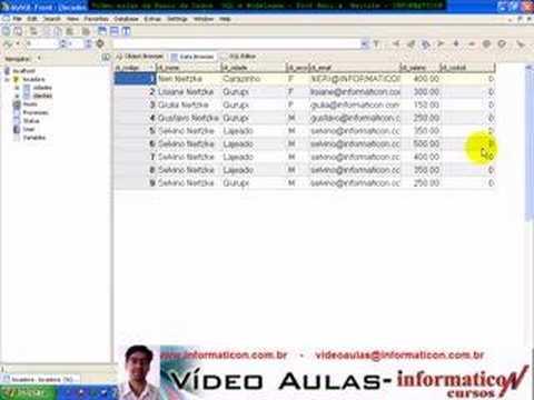 Aula 1284 banco de dados SQL - Criando Foreign Key