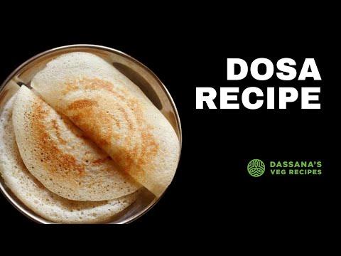 dosa recipe -  sada dosa, how to make plain dosa recipe, crispy dosa