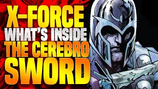 What Is Inside The CEREBRO SWORD? + X Force Part 1 (Dawn Of X )