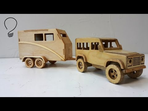 Horse Trailer out of Plywood