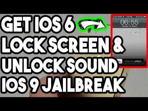 New Get iOS 6 Lockscreen And Unlock Sound Free On iOS 9.0.2 To 9.3.3 Jailbroken iPhone/iPod/iPad
