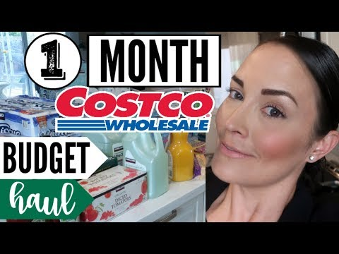 APRIL 2018 COSTCO GROCERY HAUL ● MONTHLY GROCERY SHOPPING ● WALMART HAUL SHOP WITH ME