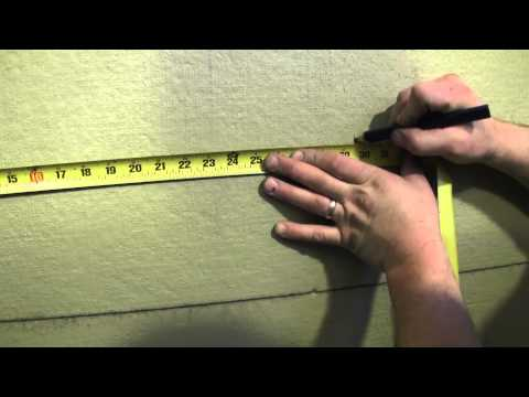 How to tile a shower wall - Tile Layout