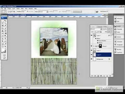 Photoshop - Smart Object Greeting Card Template