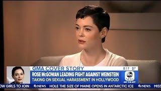 Rose Mcgowan - Calling For  Weinstein
