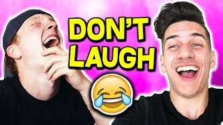 IMPOSSIBLE Try Not To Laugh Challenge! (Ft. UNSPEAKABLEGAMING & MOOSECRAFT)