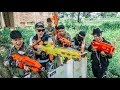 LTT Game Nerf War Warriors SEAL X Nerf Guns Fight Inhuman Group Hunters Death Battle