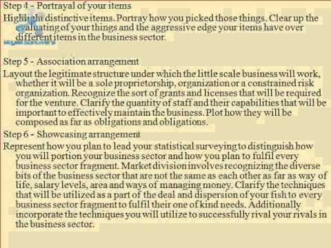 7 How to write a feasibility study report for