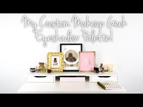 My Custom Makeup Geek Eyeshadow Palette (Cruelty Free & Vegan) - Logical Harmony