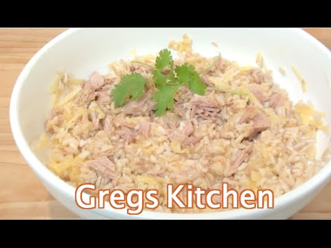 TUNA CHEESE RICE - SUBSCRIBER RECIPE - Greg's Kitchen