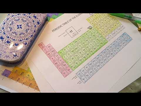 Chemistry practice by dummy - electron configurations asmr