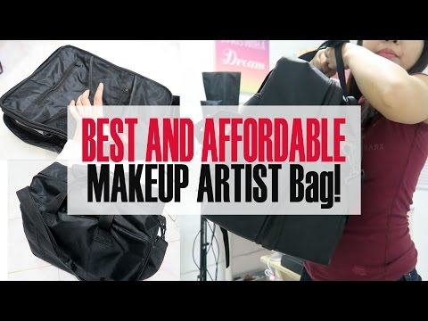 MURA AT MAGANDANG MAKEUP ARTIST BAG! | Gen-zelTV