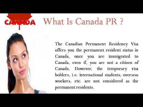How to Get Canada Pr from India ? Visas Avenue