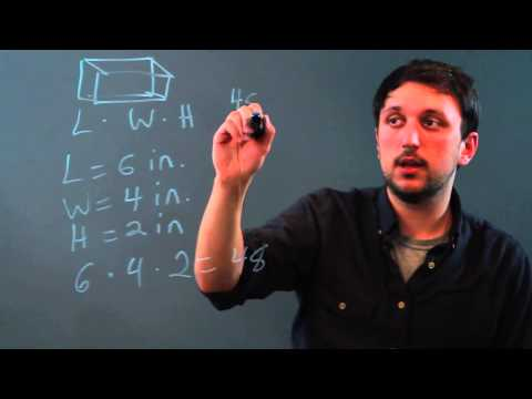 How to Measure Volume in Cubic Units