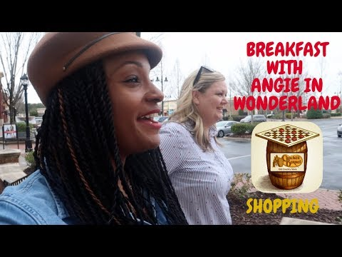 BREAKFAST WITH ANGIE /  SHOP WITH ME HOME GOODS