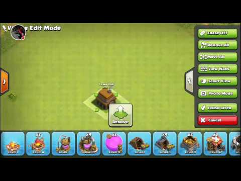 Clash of clans th5 base without spell factory