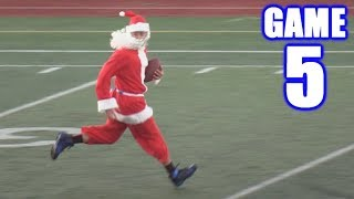 SANTA PLAYS FOOTBALL! | Sunday Morning Football | Game 5
