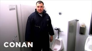 Download The Urinal Cake Boss Is Conan's New TBS Show - CONAN on TBS Video