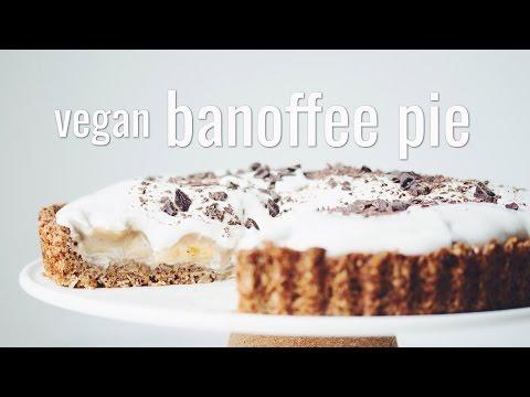 VEGAN BANOFFEE PIE | hot for food