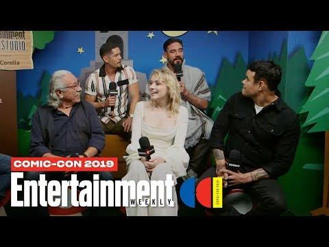 Xxx Mp4 39 Mayans M C 39 Stars JD Pardo Sarah Bolger Amp Cast Join Us LIVE SDCC 2019 Entertainment Weekly 3gp Sex