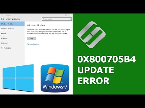 How to Fix Error 0x800705b4 While Updating Windows 10, 7 🐞🖥️🛠️