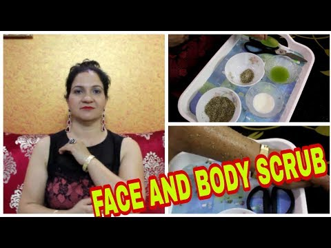 HOMEMADE HERBAL FACE AND BODY SCRUB | BLACKHEADS REMOVAL | ROYAL STYLE