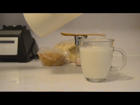 How to make Oat Milk - Quick and Easy