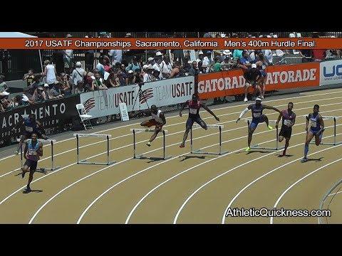 2017 USATF Championships Sacramento, CA. Men's 400m Hurdle final