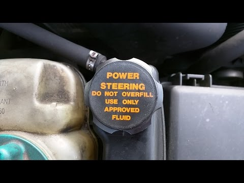 Power Steering Fluid Change / Flush Quick and Easy
