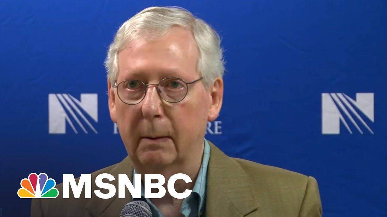 GOP's McConnell Implodes Over 'Woke' Companies & Jim Crow Law | The Beat With Ari Melber | MSNBC