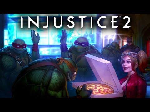 Injustice 2 Teenage Mutant Ninja Turtles Multiverse Alternate Ending