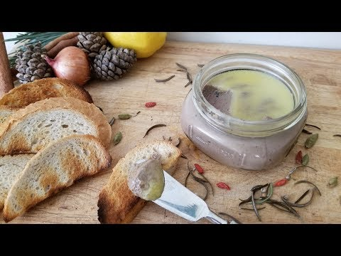 Making Creamy and smooth Chicken Liver Pate at home 沒有腥味的雞肝醬