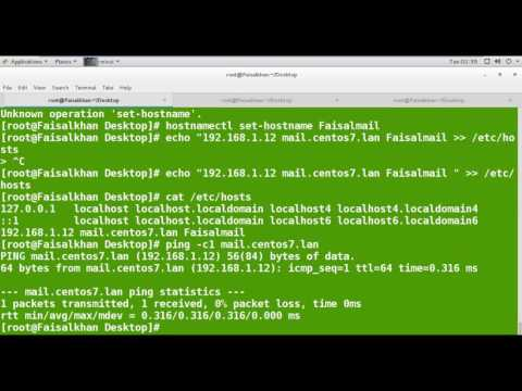 Install Zimbra mail Server In Linux
