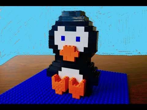 How To Build A Penguin From Legos EASY LegoPenguin  🐧ToysOpoly Bricks