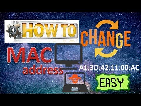 How to change MAC address in PC laptop very easily .मैक एड्रेस चेंज कैसे करे .