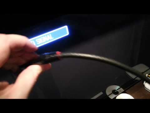 DYI HDTV Antenna using old car cell phone antenna